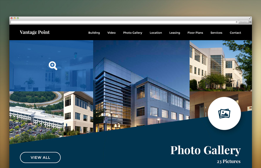 Property Website Design Inspiration