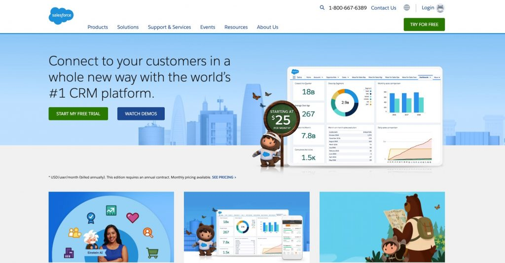 Salesforce commercial real estate crm