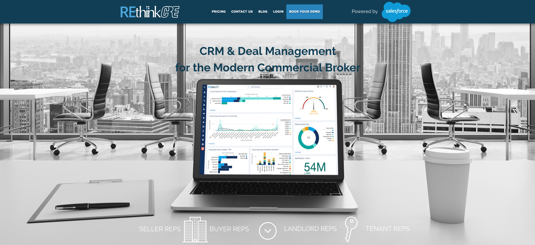 Rethink commercial real estate crm