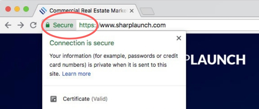 Why You Need Https For Your Website Sharplaunch