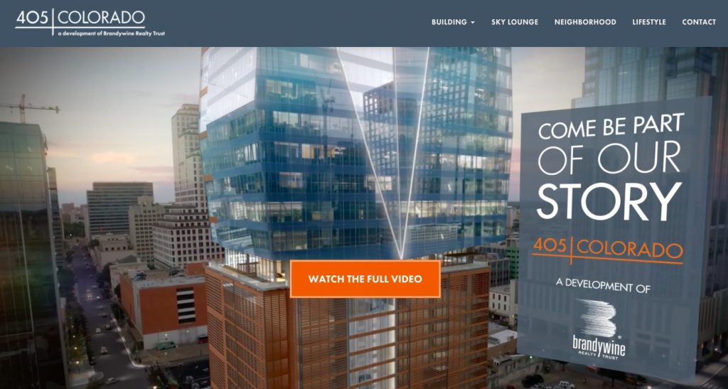 405 Colorado office property website