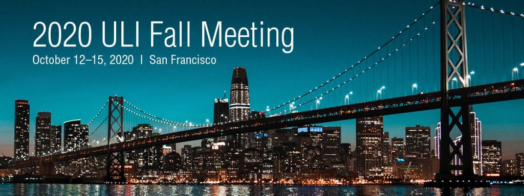 ULI commercial real estate events 2020
