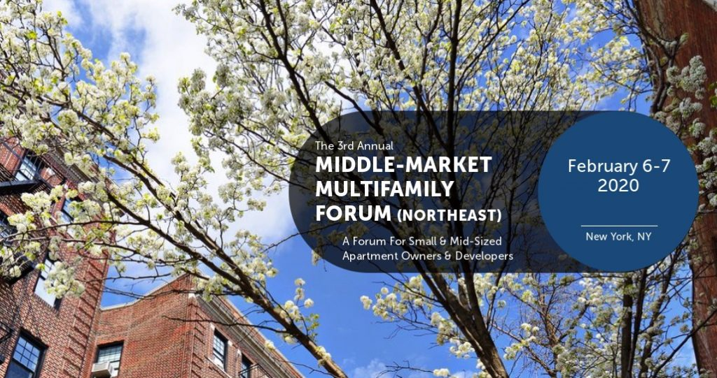IMN Middle Market Multifamily Forum commercial real estate events 2020