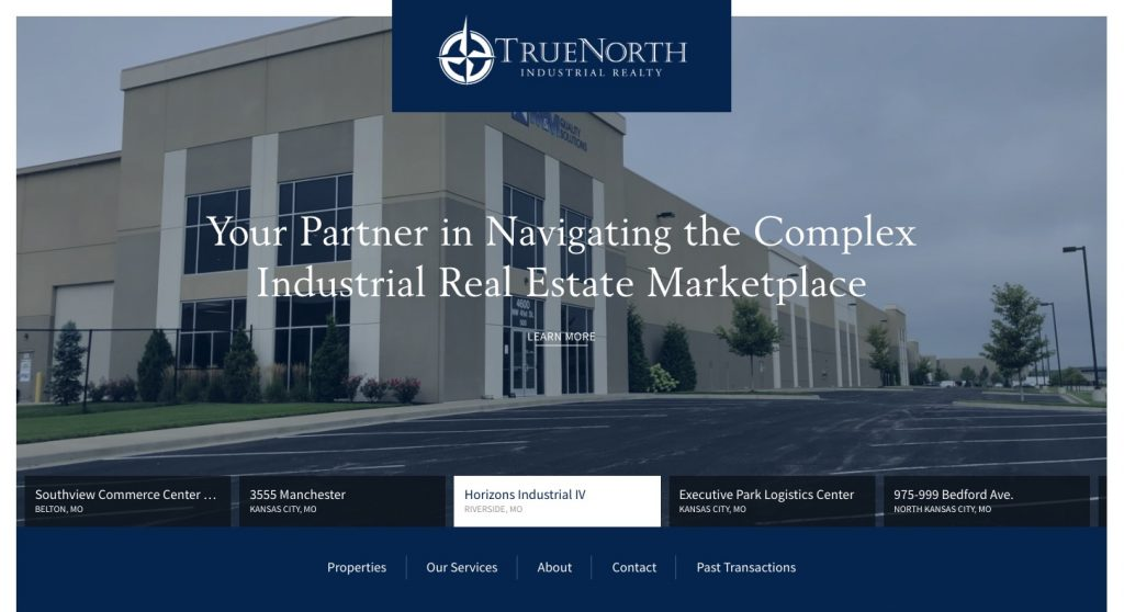 True North Commercial Real Estate WordPress