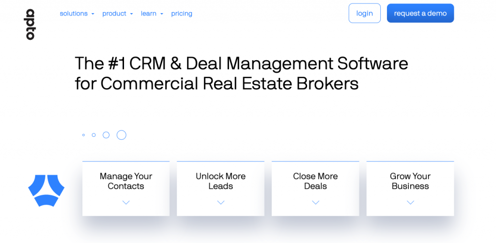 Apto Commercial Real Estate CRM
