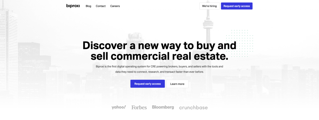 Biproxi Commercial Real Estate Listing Site