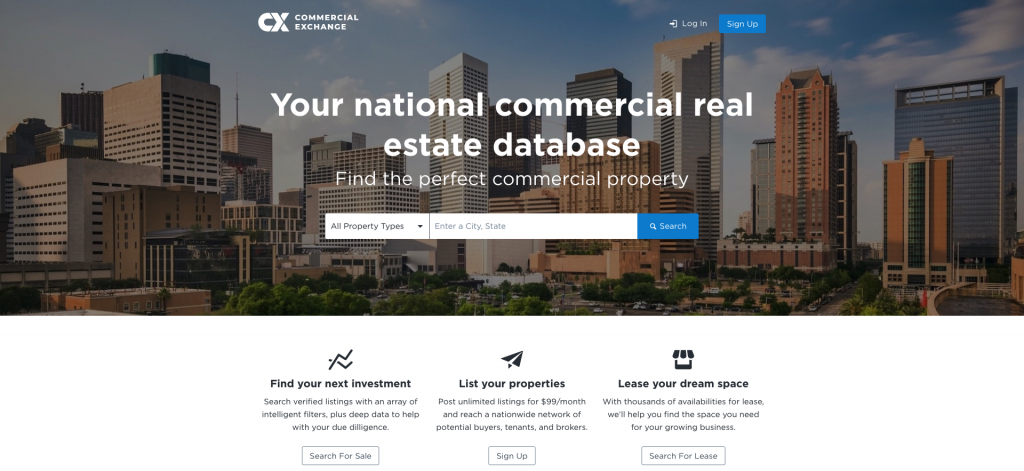 Catylist Commercial Real Estate Listing Site