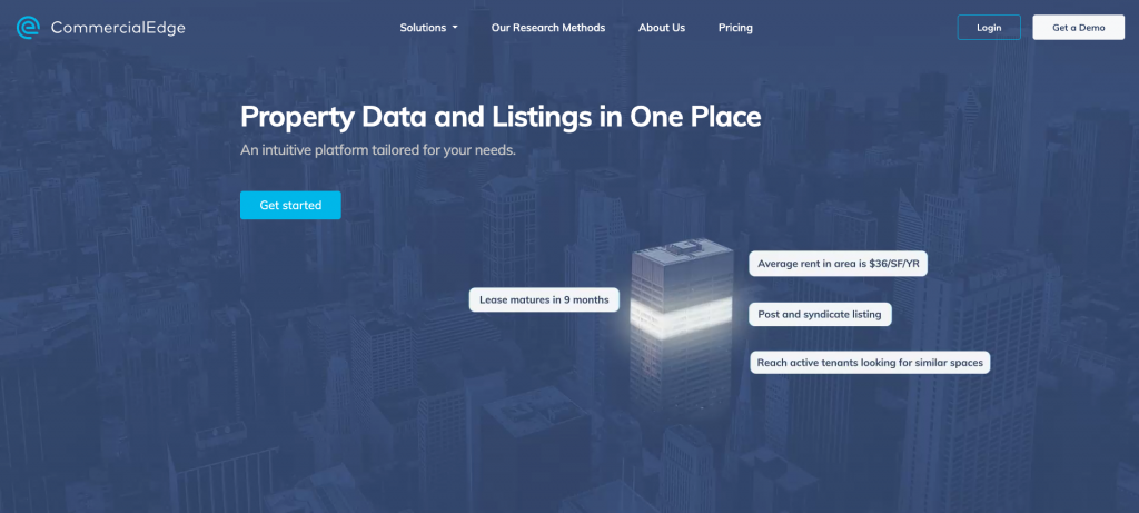 CommercialEdge Commercial Real Estate Listing Site