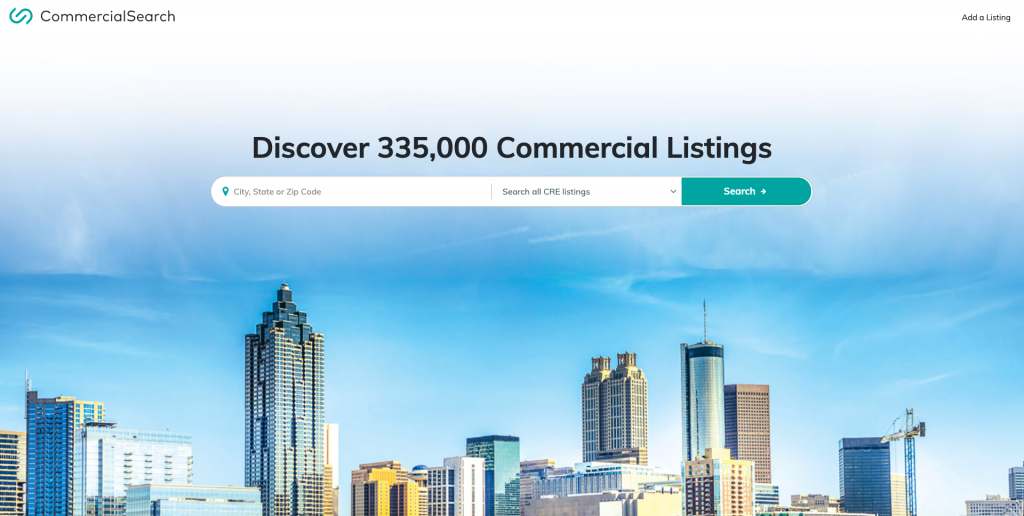 CommercialSearch Commercial Real Estate Listing Site