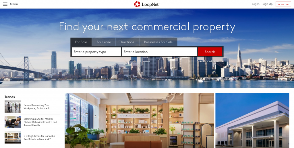 LoopNet Commercial Real Estate Listing Site