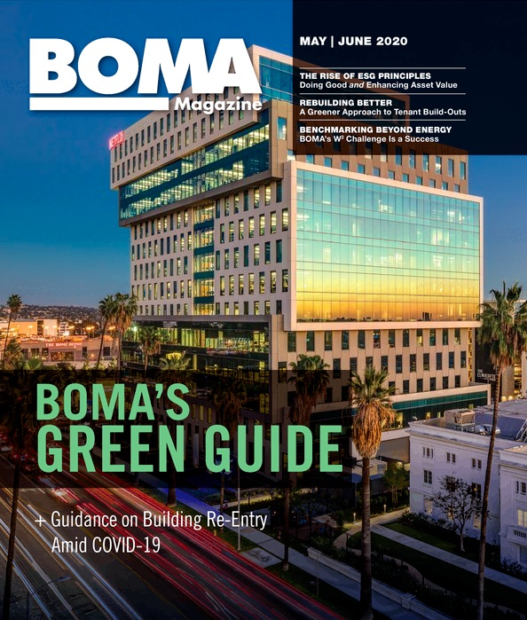 commercial real estate magazine BOMA
